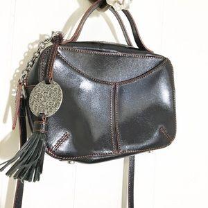 Hobo the Original Black Vegan Leather Mini Bag